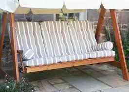 swing hammock cushion set azure