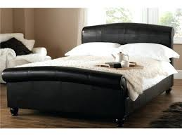 Bed Frame ~ White Double Sleigh Bed Frame Daisy Sleigh Single Bed ...