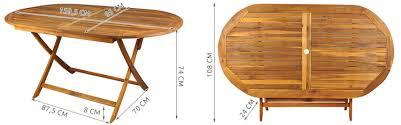 garden table wood round dining table garden furniture garden wooden table folding table 5021