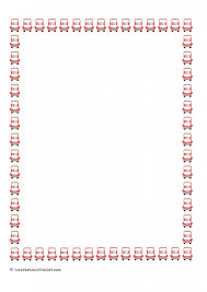 free printable borders teachers bus border paper portrait a4 plain half lined and lined