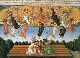 art in tuscany sandro botticelli s the mystical nativity podere santa pia holiday house in the south of tuscany