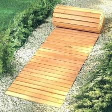 wooden walkway garden fermanagh backyard