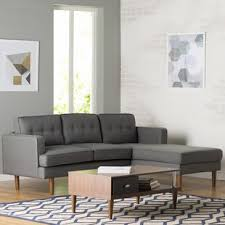 Mid Century Modern Sectionals Youll Love Wayfair