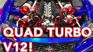 Crazy QUAD TURBO V12 TOYOTA 86! :O - YouTube