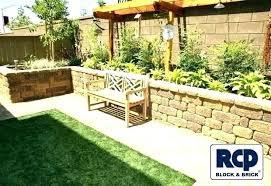 full size of backyard wall decor diy art fascinating architecture design outdoor patio brick decorating ideas