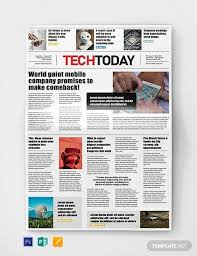 Newspaper Template For Microsoft Works Free 53 Amazing Newspaper Templates In Pdf Ppt Word Psd