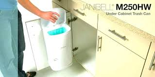 cabinet garbage bin under cabinet garbage can under sink trash can pull out double waste under