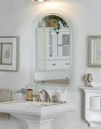 Arched Bathroom Mirror House Decorations
