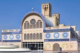 Al Markazi Souq (Blue Souq) in Sharjah, VAE
