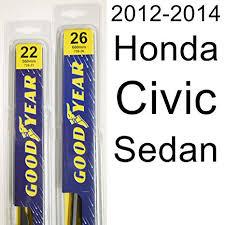 Wiper Blade Size Chart Honda