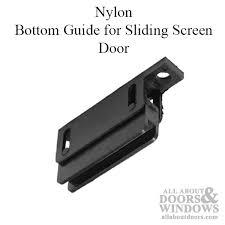 lovable sliding screen door track with screen door guides