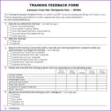evaluation form templates training evaluation form templates survey template danielmelo info