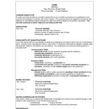 Usable Resume Templates 24 [ Resume Sample Simple ] Basic Resume Examples Free Simple 9