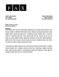 Cover Letter Template Fax Fax Cover Letter Example Free Fax Cover Sheet Template Fax Cover