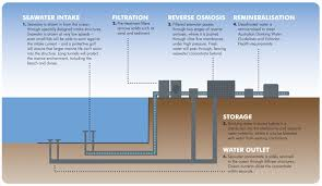 Design Guidelines Of Seawater Intake Systems Desalination Graphic California Built Environment Earth