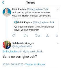 """Hilâl Kaplan on Twitter: """"Ne denir ki..… """""""