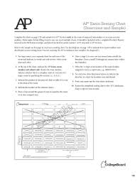 College Board Seating Chart Fillable Online Ap Exam Seating Chart Directions And Sample