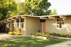 mid century modern homes plans small modern house plan