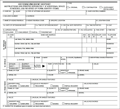 To Blank Police Report Template Incident Word Fake Car