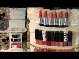 Lipstick Display Stands DIY Cute MakeupLipstick Holder Display YouTube 25