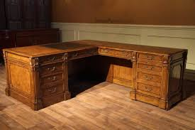 traditional walnut return desk this is a right return desk left returns are also available
