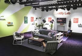 spotify york office spotify. Spotify CES 2018_ Cspace_12 York Office T