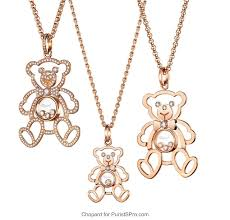 happy diamonds teddy pendants