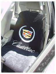 cadillac logo seat cover com