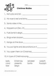 © contributed by leanne guenther. Christmas Riddles Christmas Worksheets Christmas Riddles Christmas Worksheets Third Grade Christmas Worksheets