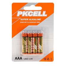 <b>Батарейка Pkcell</b>, LR03, Alcaline, мизинчиковая, <b>AAA</b> 1.5 V, 150 ...