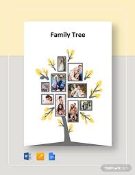 Family Tree Tree Template 35 Family Tree Templates Word Pdf Psd Apple Pages