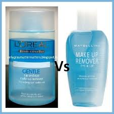 loreal dermo expertise makeup remover vs maybelline eye and lip makeup remover