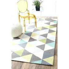 area rugs hand hooked triangle multi rug 5 x 8 contemporary wool nuloom furniture s