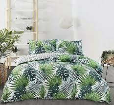 nightcomfort tropical green palm leaf