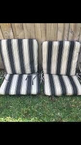 hampton bay outdoor chair cushions 4pc set home garden in davie fl offerup