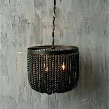 chandeliers wood beaded chandelier bead world market flush mount large size of light fixtures blue small diy