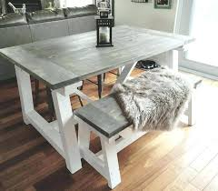 Rustic kitchen table with bench Chunky Dining That Refreshes The Mood And Brings Charm To House Rustic Kitchen Table With Bench Designinyou Dining That Refreshes The Mood And Brings Charm To House Rustic