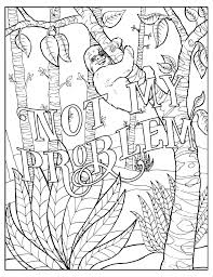 Cute Word Coloring Pages New Fuck F I M Coloring Unwind With 50