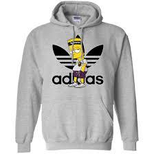 Yeezy Hoodie Size Chart Supreme Bart Simpson With Adidas Yeezy Hoodie