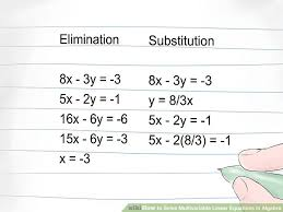 image titled solve multivariable linear equations in algebra step 4