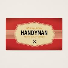 handyman business vintage handyman business cards zazzle com