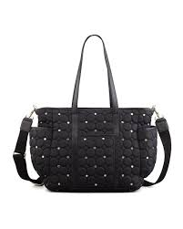 Rebecca Minkoff Marissa Quilted Diaper Bag, Black &  Adamdwight.com