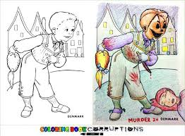 most inappropriate children coloring book drawings you can always check out more coloring books gone wrong