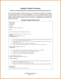 16 How To Prepare A Resume For Teacher Job Villeneuveloubet