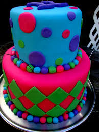 Cute Birthday Cake Ideas Cool Made This For A 12 Year Old Girls