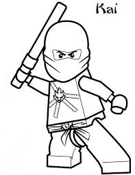 Ninjago Coloring Pages Fresh Free Ninjago Coloring Pages Lego
