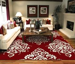 red 8x10 area rug awesome com large area rug for living room red within red