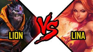 dota 2 lina vs lion dota 2 battle slayer vs demon witch fight 18