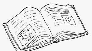 a open book drawing open book coloring page open book coloring pages vitlt of a open