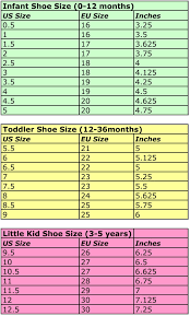 Vans Toddler Size Chart Inches 71 Most Popular Toddler Shoe Size Converter